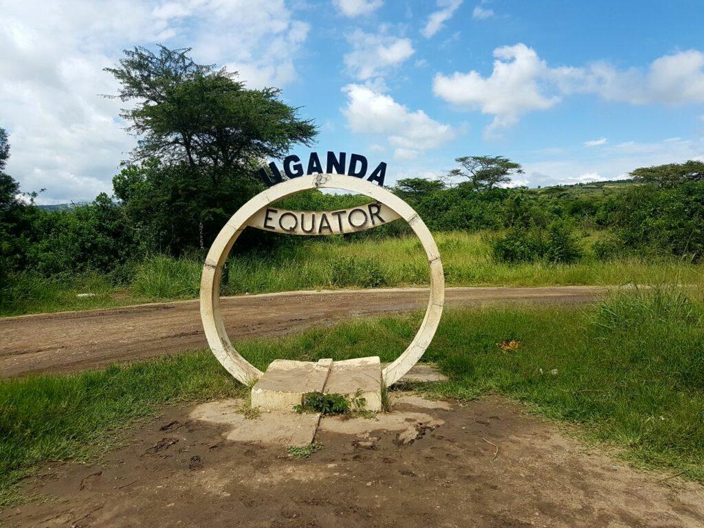 ekvator v ugandi